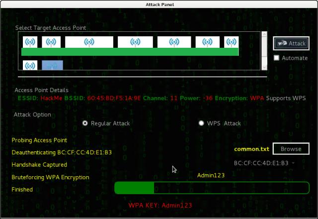 Fern Wifi Cracker – Kali Linux